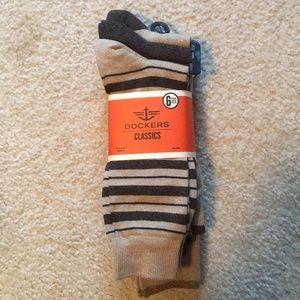 Men's Docker socks 6 pack